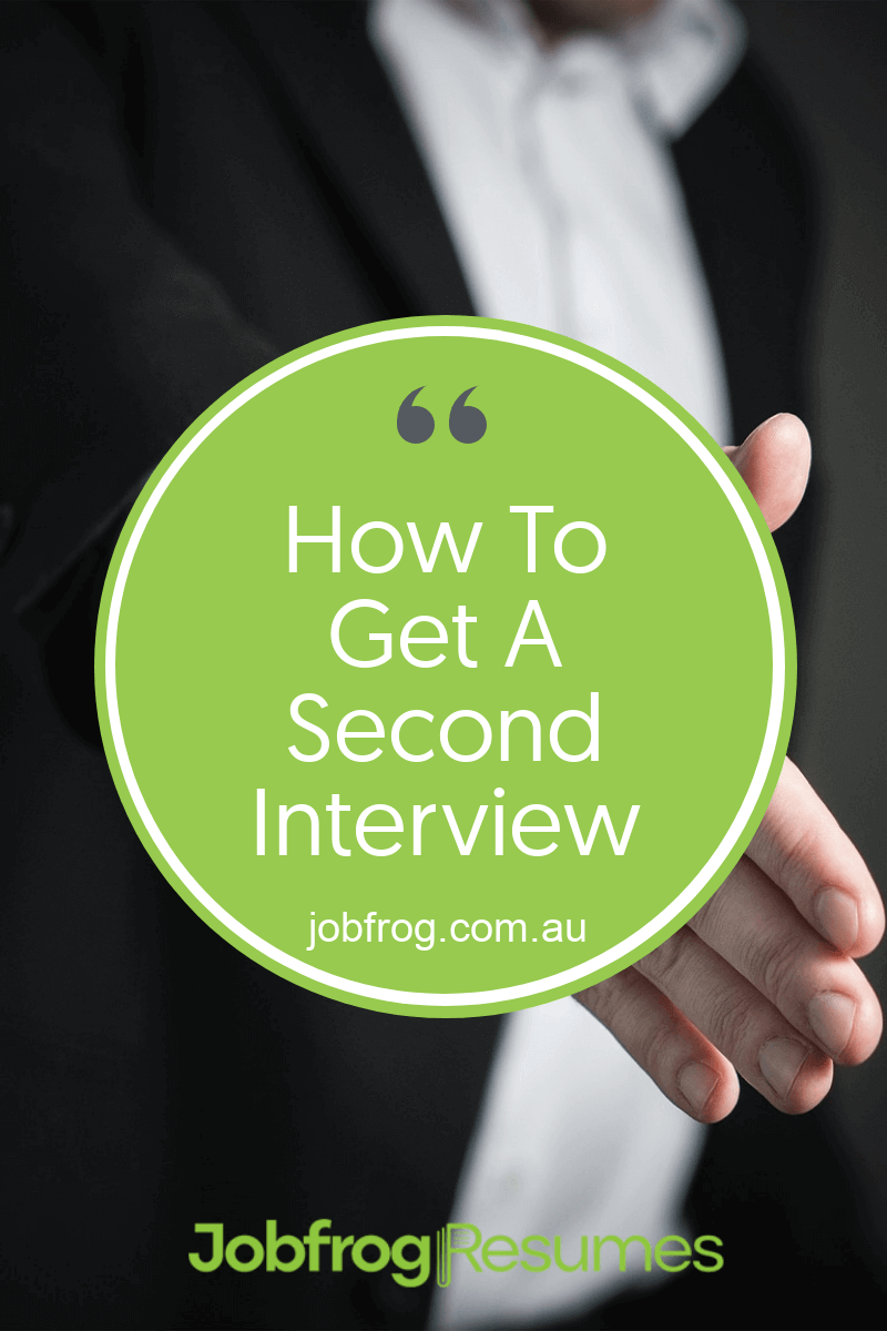 How To Get A Second Interview