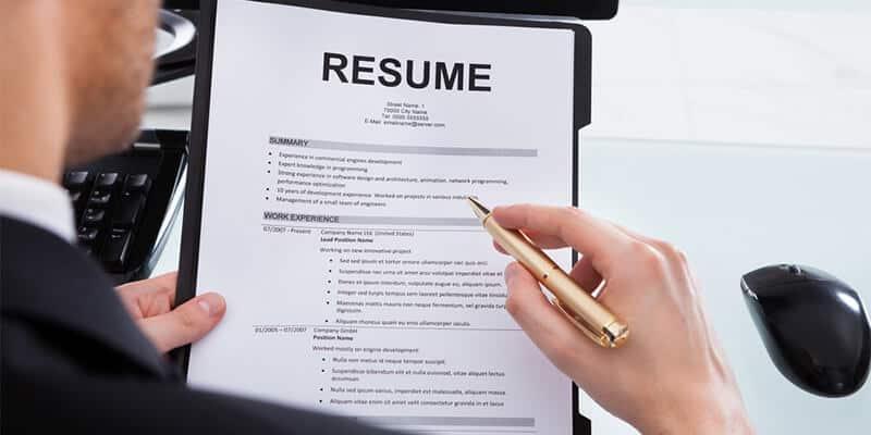Eye-Catching Resume