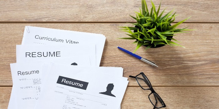 customizing your resume for an application