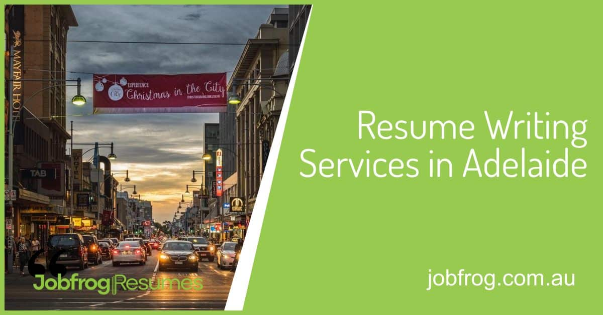 resume writing services adelaide